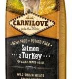 Carnilove Adult Zalm & kalkoen voor honden vanaf 25 kg