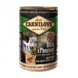 Carnilove Adult All Breed 400 g blik Eend & fazant