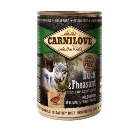 Carnilove Adult All Breed 400 g blik Eend & fazant