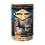 Carnilove Adult All Breed 400 g blik Zalm & kalkoen