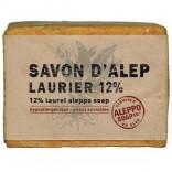 Savon D'Alep met laurier 12% een 200 gr blok