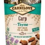 Carnilove zachte hondenbeloning Karper met thijm 200 g