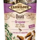 Carnilove zachte hondenbeloning Kwartel met oregano 200 g
