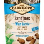 Carnilove zachte hondenbeloning Sardines met wilde knoflook 200 g