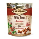 Carnilove knapperige hondenbeloning Wild zwijn met rozenbottels 200 g