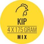 Carnivoer kipmix 4 x 175 g