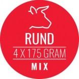 Carnivoer rundmix 4 x 175 g