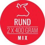 Carnivoer rundmix 2 x 400 g