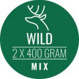 Carnivoer wildmix 2 x 400 g